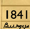 1841 census Youlgreave